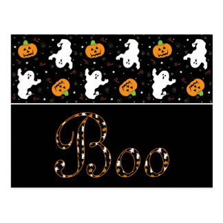 Halloween Boo Postcard