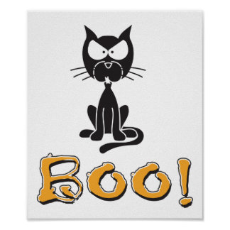 Halloween Boo! Posters