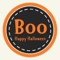 Halloween Boo Stickers