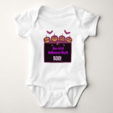 Halloween Themed Halloween , Boo-tiful halloween night Baby Bodysuit
