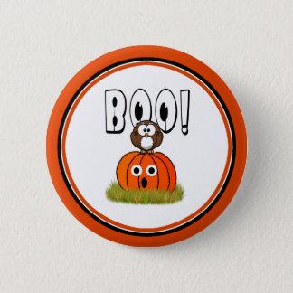Halloween BOO to You, Too! Pinback Button