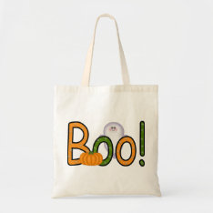 Halloween Boo!! Tote Bag at Zazzle