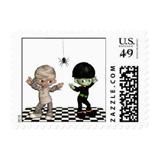 Halloween Boogie-woogie - Halloween Postage