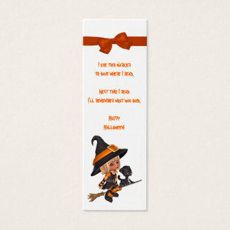 Halloween Book Marks Mini Business Card