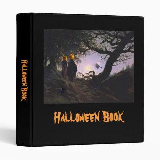 Halloween Book Vinyl Binder