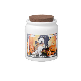 Halloween - Border Collie - Tywin Candy Dishes