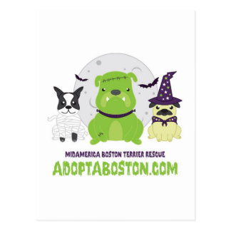 Halloween_BostonShirt-CMYK-01.jpg Postcard