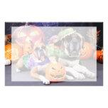 Halloween - boxeador - Roxy y mastín - Lach Papelería Personalizada