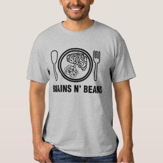 Halloween Brains N' Beans T Shirt