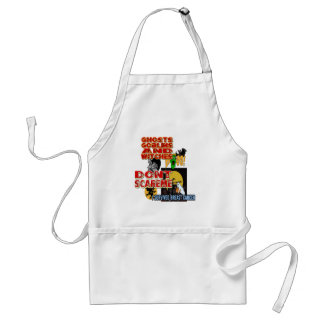 HALLOWEEN BREAST CANCER ADULT APRON