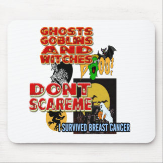 HALLOWEEN BREAST CANCER MOUSE PAD
