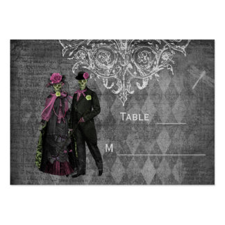 Halloween Bride Groom Wedding Guest Place Cards Business Card Templates