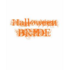 Halloween Bride shirt