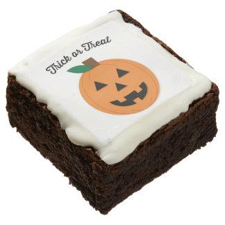Halloween Brownie Trick Or Treat Jack O Lantern