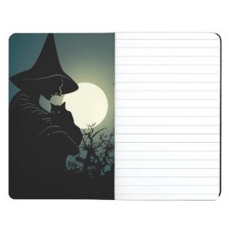 Halloween: bruja y casa hounted cuadernos grapados
