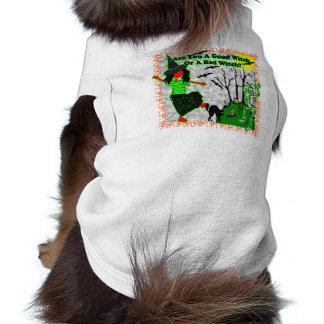 ¿Halloween - buena bruja? Camisetas Mascota