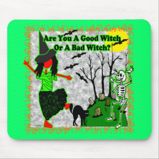 ¿Halloween - buena bruja? Tapete De Ratones