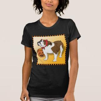 Halloween Bulldog T-shirt