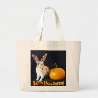 Halloween Bunny Jumbo Tote Bag