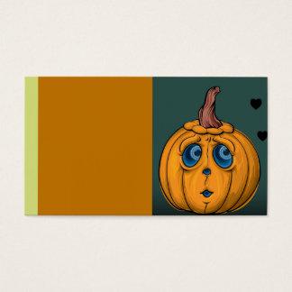 Halloween Business Card