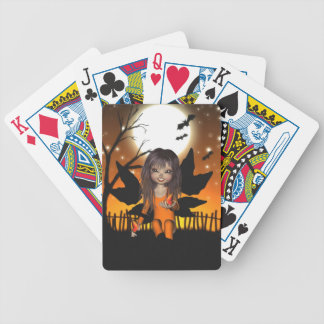 Halloween Butterflies Fairy Bicycle Playing Cards