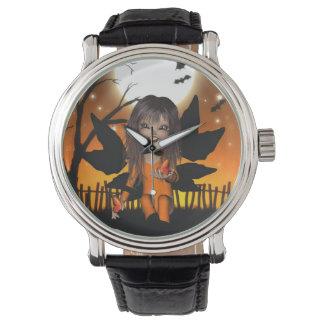 Halloween Butterflies Fairy Watch