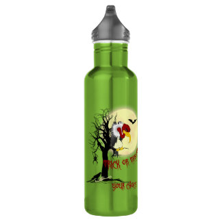 Halloween Buzzard 24oz Water Bottle