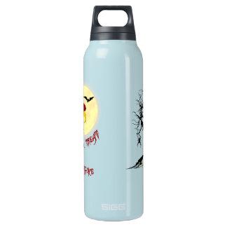 Halloween Buzzard 16 Oz Insulated SIGG Thermos Water Bottle