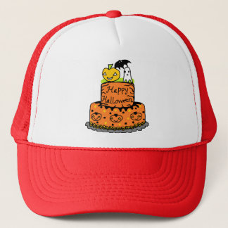 Halloween Cake Trucker Hat