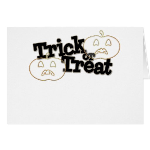 halloween candy bag greeting cards