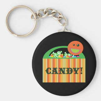 Halloween Candy Bag Key Chains