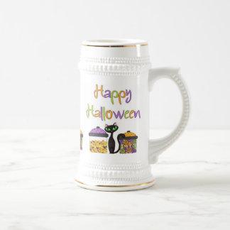 Halloween Candy Black Cat Beer Stein
