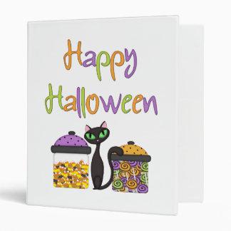 Halloween Candy Black Cat Binder