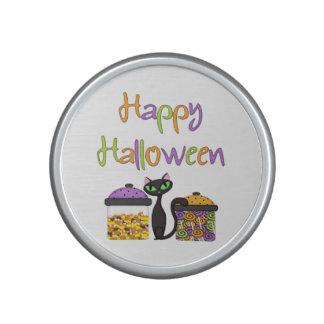 Halloween Candy Black Cat Bluetooth Speaker
