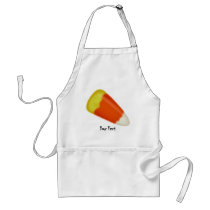 Halloween Candy Corn Adult Apron