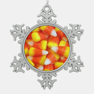 Halloween candy corn christmas ornament