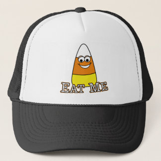 Halloween Candy Corn - Eat Me Trucker Hat