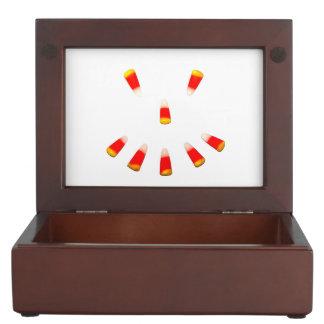 Halloween Candy Corn Grin Keepsake Box