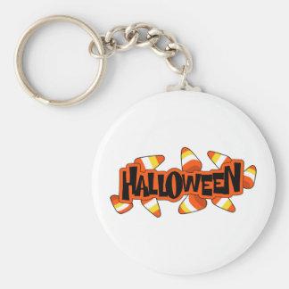 Halloween Candy Corn Key Chain