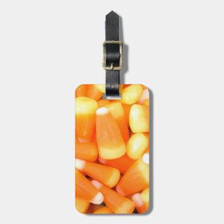 Halloween Candy Corn Luggage Tag