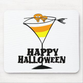 Halloween Candy Corn Martini Mousepad