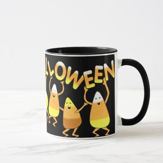 Halloween  Candy Corn Mug