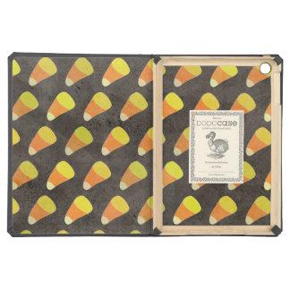 Halloween Candy Corn Pattern iPad Air Cases
