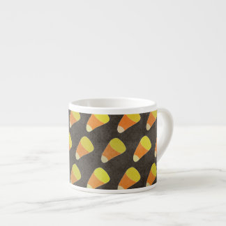 Halloween Candy Corn Pattern Espresso Cup