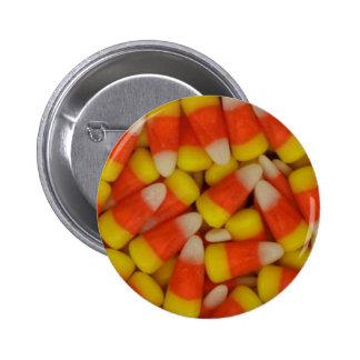 Halloween Candy Corn Pinback Button