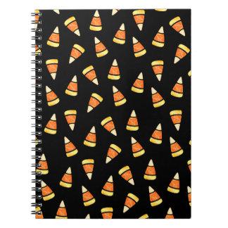 Halloween Candy Corn Print Notebook