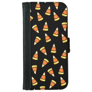 Halloween Candy Corn Print Wallet Phone Case For iPhone 6/6s