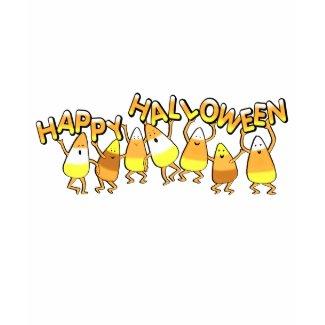 Halloween Candy Corn T-Shirt shirt