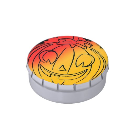 Halloween Candy Jelly Belly Candy Tins