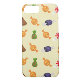 Halloween Candy Pattern Phone Case